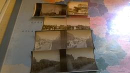 6photos Stéréotypes Guerre 14.18. Environ Dunkerque =, Dixmude - Photos Stéréoscopiques