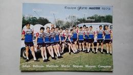 équipe Gitane Frigécrème 1973 Carte Publicitaire Cyclisme Vélo Sport - Cycling