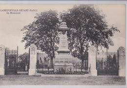 LANEUVEVILLE-DEVANT-NANCY (Meurthe-et-Moselle) - Monument Aux Morts De La Grande Guerre - Other Municipalities