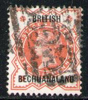 BECHUANALAND 1887 - Set Used - Bechuanaland (...-1966)