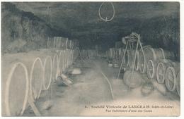 LANGEAIS - Société Vinicole, Vue Intérieure - Langeais