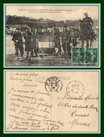 CPA Le Drapeau Du 25e Bataillon De Chasseurs Aux Grandes Manœuvres Cdt. Mordacq Voy St Mihiel 1909 BE (pas Si Com. !) - Saint Mihiel