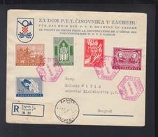 Yugoslavia FDC 1940 Zagreb - 1931-1941 Königreich Jugoslawien