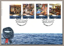 Portugal Stamps - Centenary Peter Café Sport - FDC - FDC