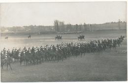 TOURS - Carte Photo 1910 - Manoeuvres De Cuirassiers  Au Menneton - Tours