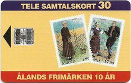 Aland - Åland Post - Stamps Of Åland - Chip SC7 - 11.1993, 26.000ex, Used - Aland