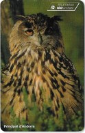 Andorra - STA - Eagle Owl - 11.1997, 100Units, 20.000ex, Used - Andorra
