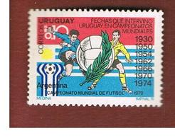 URUGUAY   -    1976 FOOTBALL WORLD CUP                                      - MINT ** - Uruguay
