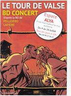 PELLEJERO Ruben - Bande Dessinee Tour De Valse BD Concert Avignon Danse Camp Internement - CPM 10,5x15 TBE  Neuve - Künstlerkarten