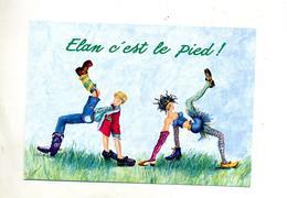 Carte Publicite Chaussure Elan - Publicité