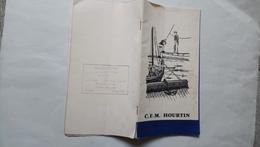 Guide Brochure Le CFM Hourtin Vous Souhaite La Bienvenue Illustré Plan Carte Marine - Other