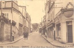 Sanvic - La Rue Sadi-Carnot - Vue Prise De L'Octroi - Frankrijk
