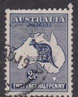 Australia SG 36 1915 Kangaroo,two And Half Penny Deep Blue, Used - Used Stamps