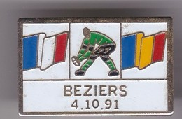 Pin's RUGBY BEZIERS 4/10/91 - Rugby