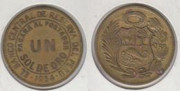 Pérou Un Sol 1964  Peru - Perú