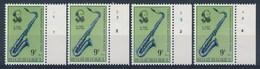 BELGIE - OBP Nr 1684 - Adolphe Sax - PLAATNUMMER 1/4 - MNH** - 1971-1980