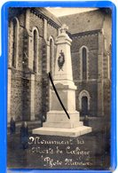 CPA 61 - CARTE PHOTO - Monument Des Morts De Caligny - Autres Communes