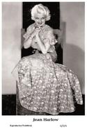 JEAN HARLOW - Film Star Pin Up PHOTO POSTCARD - 6-325 Swiftsure Postcard - Cartes Postales