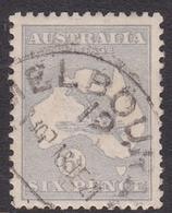 Australia SG 38 1915 Kangaroo,6d Ultramarine, Used - Used Stamps