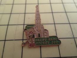 610c Pin's Pins / Beau Et Rare / SPORTS : BREST SAINT MARC HOCKEY SUR GAZON Maudit EGLISE BRETAGNE - Badges