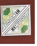 VENEZUELA  - SG 2235   -  1973 GOLDEN HIGHWAY (2 STAMPS TETE-BECHE)       -  MINT** - Venezuela