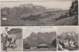 Suisse   Cantine De Savolaire Sur Morgins  Guill Perrin-dubosson - Suisse