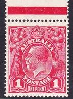 Australia SG 47  1917 King George V,1d Red, Mint Never Hinged - 1913-36 George V: Heads