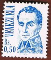 VENEZUELA  - SG 2318/2614   -  1975  SIMON BOLIVAR (2 STAMPS OF THE CURRENT SERIE)     -  MINT** - Venezuela