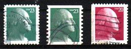 USA. Timbres Oblitérés De 2001-2003. George Washington. - George Washington
