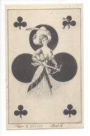 20089 - Dame De Trèfle Par E Schiendl - Playing Cards