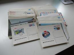 Sowjetunion 1970 / 80er Jahre FDC / Ganzsachen / Sonderumschläge! 272 Stk. Gelaufen / Ungebraucht! Viele Motive!! - Briefmarken