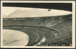 Brazil Rio Maracana Football Stadium RP Postcard. Soccer Match - Rio De Janeiro