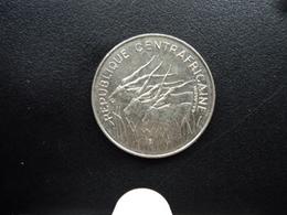 RÉPUBLIQUE CENTRAFRICAINE : 100 FRANCS 1972   KM 6    SUP+ / SUP - Central African Republic