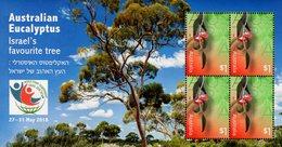 Australia - 2018 - Australian Eucaliptes - World Stamp Championship - Mint Souvenir Sheet With Eucaliptus Scent - 2010-... Elizabeth II