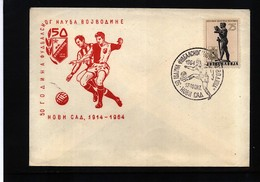 Jugoslawien / Yugoslavia 1964 50 Years Of Football Club Vojvodina - Fussball