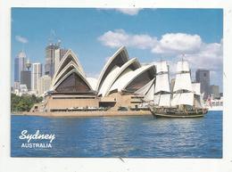 Cp, Australie , Australia , SYDNEY , The Bounty Sails Past The Sydney Opera House, Voyagée 1993 - Sydney