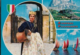ABRUZZO PITTORESCO - EDIZ TRIMBOLI PESCARA 1979 - NUOVA - Costumi