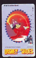 Télécarte Japon *  110-011 - DISNEY- Mickey Mouse * CHARACTER SHOES   (6397)  Japan Phonecard Telefonkarte - Disney