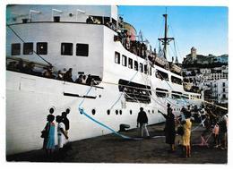 Cpsm: ESPAGNE - IBIZA - Tipica Despedida En El Puerto (Départ Du Bateau, Salida De Un Barco) N° 3682 - Ibiza