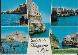 PUGLIA - POLIGNANO A MARE - VARIE VEDUTE- EDIZ . TRIMBOLI PESCARA 1979 - NUOVA - Italia