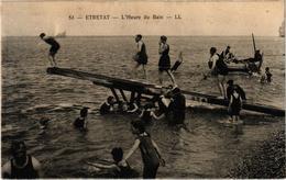 ETRETAT (76) L'Heure Du Bain - Belle Carte - Etretat