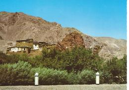 Afghanistan Village On Salang Road Cpsm TBE - Afghanistan