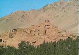 Afghanistan A Mountain Village  Cpsm TBE - Afghanistan