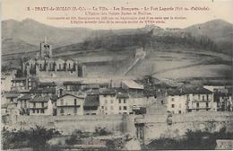 66, Pyrénées Orientales, PRATS DE MOLLO, La Ville, Les Remparts, Scan Recto-Verso - Sonstige Gemeinden