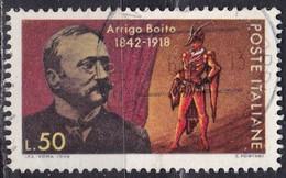 Repubblica Italiana, 1968 - Arrigo Boito - Nr.1089 Usato° - 6. 1946-.. Repubblica