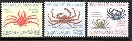 Serie Nº 219/21 Groenlandia. - Crustacés