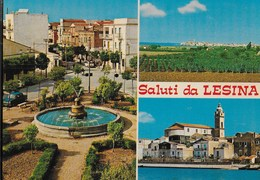 SALUTI DA .... LESINA (FG) - VARIE VEDUTE - EDIZ. TRIMBOLI PESCARA 1979 - NUOVA - Saluti Da.../ Gruss Aus...