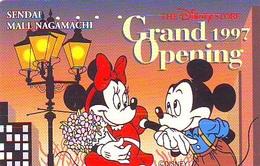 Télécarte JAPON * 110-189914 * DISNEY STORE (6403) PHONECARD JAPAN * Telefonkarte * GRAND OPENING * TIRAGE 7.000 * - Disney