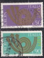 Repubblica Italiana, 1973 - Europa - Nr.1217/1218 Usato° - 6. 1946-.. Repubblica