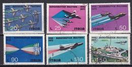 Repubblica Italiana, 1973 - Aereonautica Militare - Nr.1207/1211 Usato° - 6. 1946-.. Repubblica
